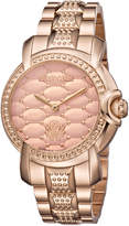 Roberto Cavalli RV1L019M0126 Rose Gold-Tone Watch