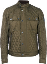 Belstaff band collar quilted jacket - men - Cotton/Polyester - 46