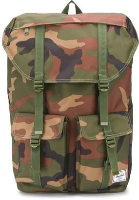 Herschel Delta camouflage print backpack