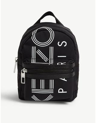 Kenzo Logo-print mini nylon backpack