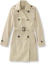 L.L. Bean Crosstown Trench Coat