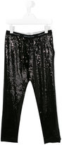 John Galliano sequin leggings - kids - Spandex/Elastane/viscose - 14 yrs