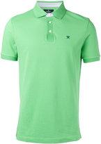Hackett logo patch polo shirt - men - Cotton - M