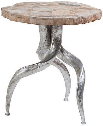 Artistica Peck Side Table - Ivory