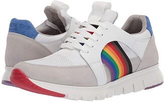 Kenneth Cole New York Bailey Pride (White Multi) Men's Shoes