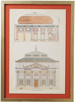 OKA Bowerman Architectural Framed Print