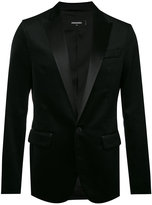 DSQUARED2 tuxedo jacket - men - Silk/Cotton/Polyester - 48