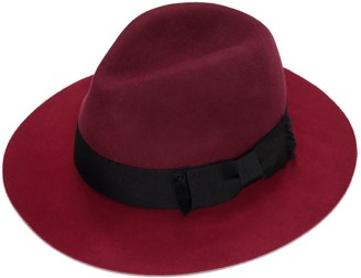 Justine Hats Floppy Two Tone Fedora