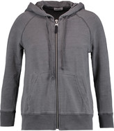 Splendid Pigment stretch Tencel and cotton-blend hoodie