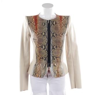 Jitrois Beige Leather Jackets