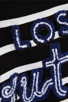 EACH X OTHER Lost Youth Mariner embroidered cotton T-shirt