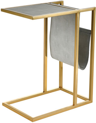 Artistic Home & Lighting Kingsroad Accent Table With Magazine Holder