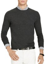 Polo Ralph Lauren Stretch Merino Slim Fit Crewneck Sweater