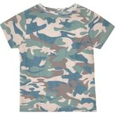 River Island Mini boys khaki camo T-shirt