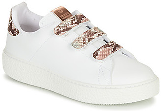 Victoria UTOPIA RELIEVE VELCRO women's Shoes (Trainers) in White