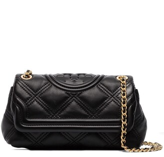 Tory Burch Diamond-Quilted Leather Shoulder Bag