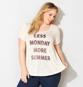 Avenue Less Monday Hatchi Tee