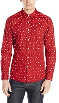 Volcom Men's Polka Dot Long-Sleeve Shirt