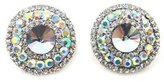 PYNK JEWELLERY AB and Crystal Round Clip On Earrings
