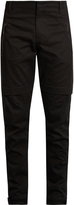 Marcelo Burlon County of Milan Damian zipped-cuff cotton-twill trousers