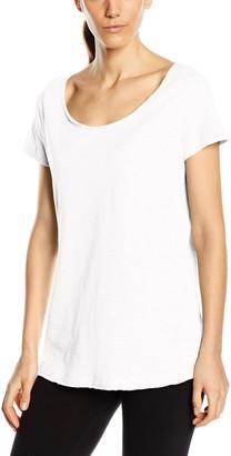 Stedman Apparel Women's Sharon Oversized Slub Crew Neck Plain Short Sleeve T-Shirt