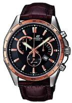 Edifice – Men's Analogue Watch with Genuine Leather Strap – EFR-510L-5AVEF