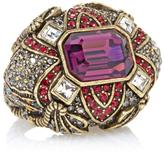 "Heidi Daus Regal Rhapsody"" Crystal-Accented Statement Ring"