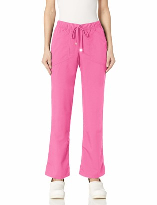 HeartSoul Scrubs Women's Head Over Heels Drawn to You Low Rise Drawstring Pant