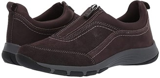 Easy Spirit Cave (Black Suede) Women's Shoes