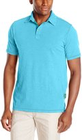 Margaritaville Men's Short Sleeve Baja Cali Polo Shirt