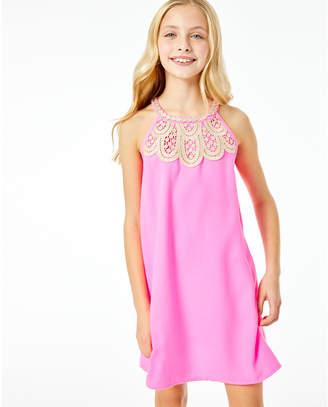 Lilly Pulitzer Girls Mini Pearl Shift Dress