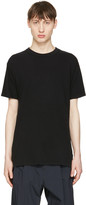 Undecorated Man Black Cotton T-shirt