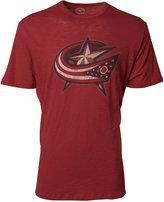 '47 Men's Short-Sleeve Columbus Blue Jackets Logo Scrum T-Shirt