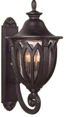 Alcott Hill Phillipstown 4-Light Outdoor Wall Lantern Finish: Architectural Bronze