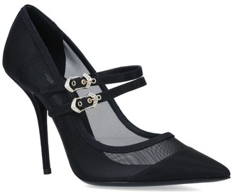 Dolce & Gabbana Cardinale Mesh Mary Jane Pumps105
