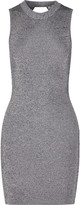 Alexander Wang Cutout stretch-knit mini dress