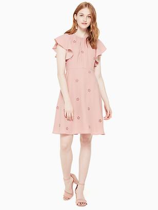 Kate Spade Cutout Crepe Dress