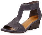 Coclico Ollie Leather City Sandal, Medium Blue