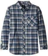 Rip Curl Kids Mundo Long Sleeve Flannel Shirt (Big Kids)