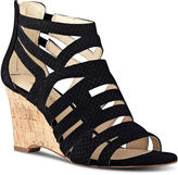 Nine West Canary Cage Wedge Sandals