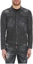 DSQUARED2 Skinny Long Denim Jacket