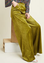 ModCloth Guiding Glow Wide-Leg Velvet Pants in XXL