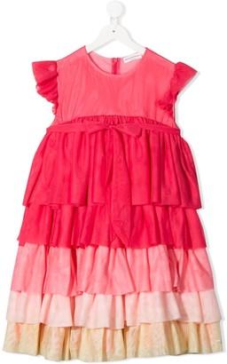 Sonia Rykiel ENFANT TEEN tiered tulle dress