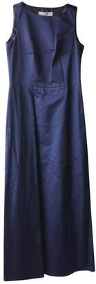 Gerard Darel Navy Cotton Dress for Women