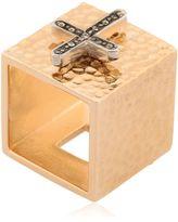 Schield Charms Cross Ring