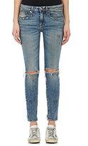 R 13 Women's Alison Skinny Distressed Jeans
