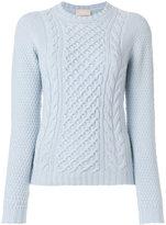 Drumohr arran knit jumper