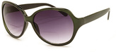 A. J. Morgan Dark Green Pamela Bifocal Sun Readers