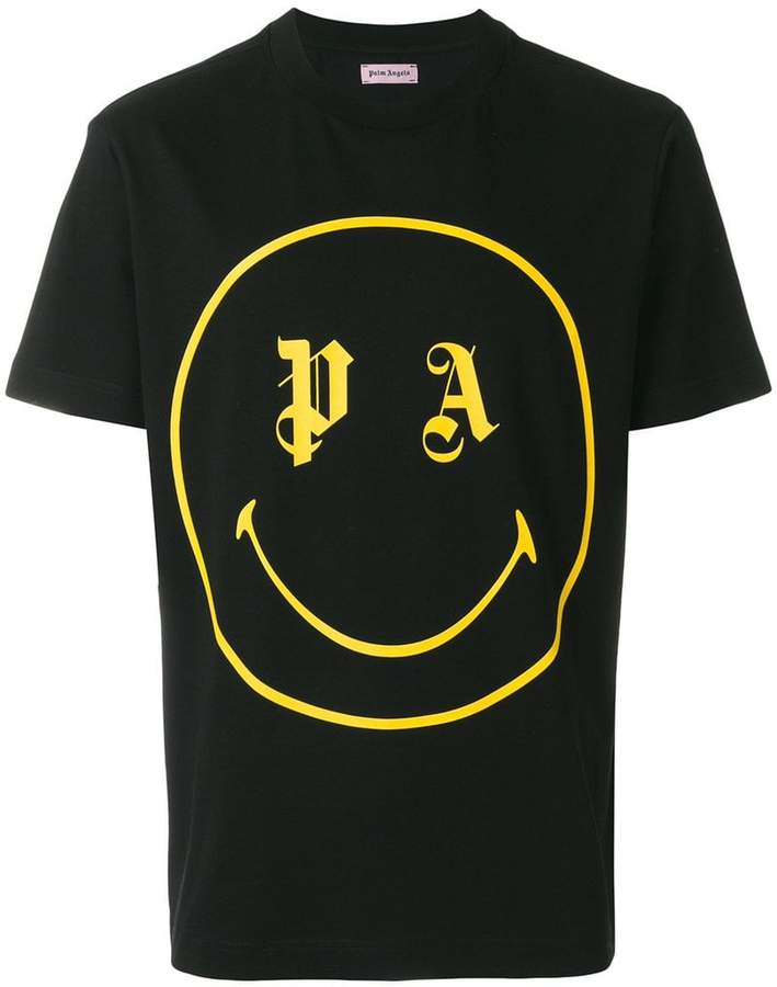 Palm Angels smiley logo T-shirt