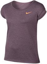Nike Tight-Fit Logo T-Shirt, Big Girls (7-16)